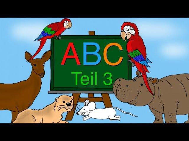 ABC Lied - Buchstaben lernen von M-R - Alphabet - Kinderlieder deutsch - Phonics song