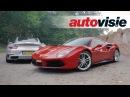 Autovisie TV Ferrari 488 GTB versus Porsche 911 Turbo S 2017