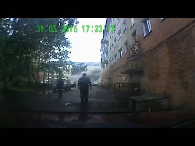 Трагедия в Междуреченске: момент обрушения дома был зафиксирован на видео