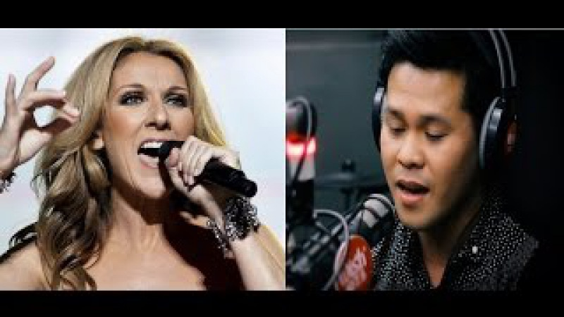Celine Dion Marcelito Pomoy sings Power of Love | the contrast