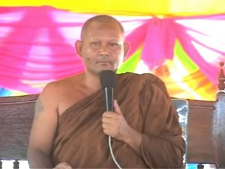 Lok Ta Such Khmer Surin Somdeng Thor in Pagoda Boundary Ceremony