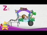 Z is for Zebra, Zero, Zoo - Letter Z - Alphabet Song  Learning English for kids