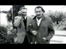 1957 Walt Disney Visits Salvador Dali in Spain Walt Disney visita a Dalí en España 2 Genios