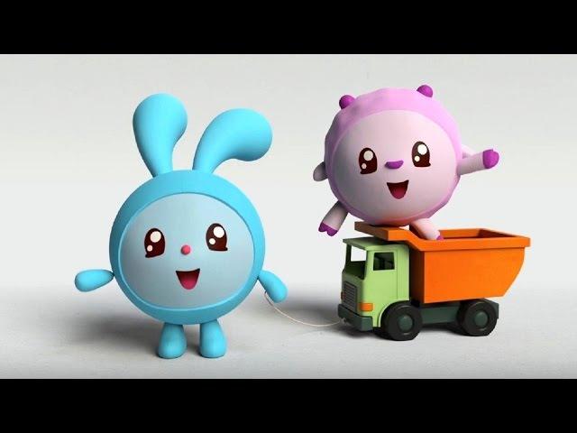 Малышарики - Обучающий мультик для малышей - Все серии подряд - про Крошика, Ежик ...