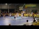 Нетипичное Голицыно - 15 летний баскетболист с ростом 229 не замечает соперников