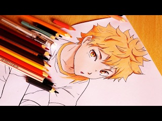 Speed Drawing - Hinata ( Haikyuu! )