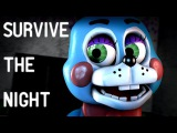 [SFM FNAF] Survive the Night - FNaF 2 Song by Faster