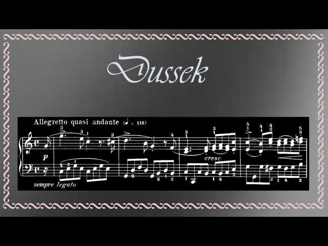 Dussek - Sonatina in C Major Op. 20 No. 2, for Piano (Complete)