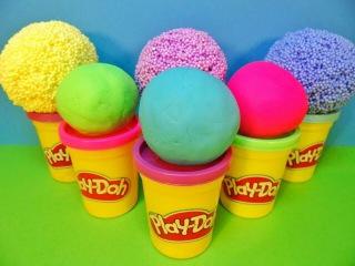 Play-doh Surprise eggs for kids Unboxing! Barbie, Spongebob, Shopkins, Frozen, Planes Disney, Kinder