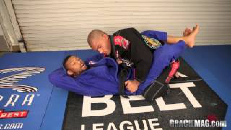American talent Tim Spriggs teaches an overhook punch choke from closed guard