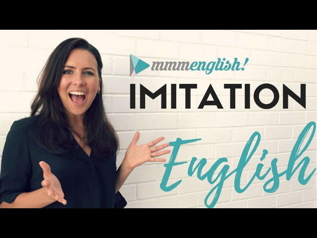English Imitation Lessons | Speak More Clearly Confidently