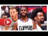 Chris Paul, Blake Griffin &amp DeAndre Jordan Highlights vs Raptors (2016.10.05) - LA SHOWTIME!