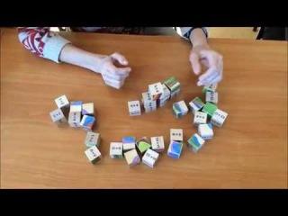 Упражнение с Авторскими Кубиками Виктории Соловьевой «Знакомство с собой...»