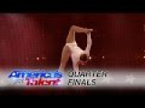 Sofie Dossi: Teen Contortionist Shoots Flaming Bow and Arrow Perfectly - Americas Got Talent 2016