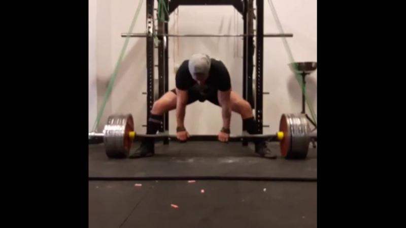 Эндрю Оттавей, тяга 400 кг