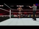 Triple H vs The Rock - поединок 1/4 финала на титул WWE