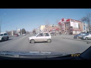 ДТП на улице Суворова в Пензе 5 апреля 2017 года