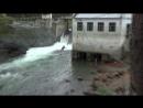 Прыжок через р.Катунь на Чемальской ГЭС
