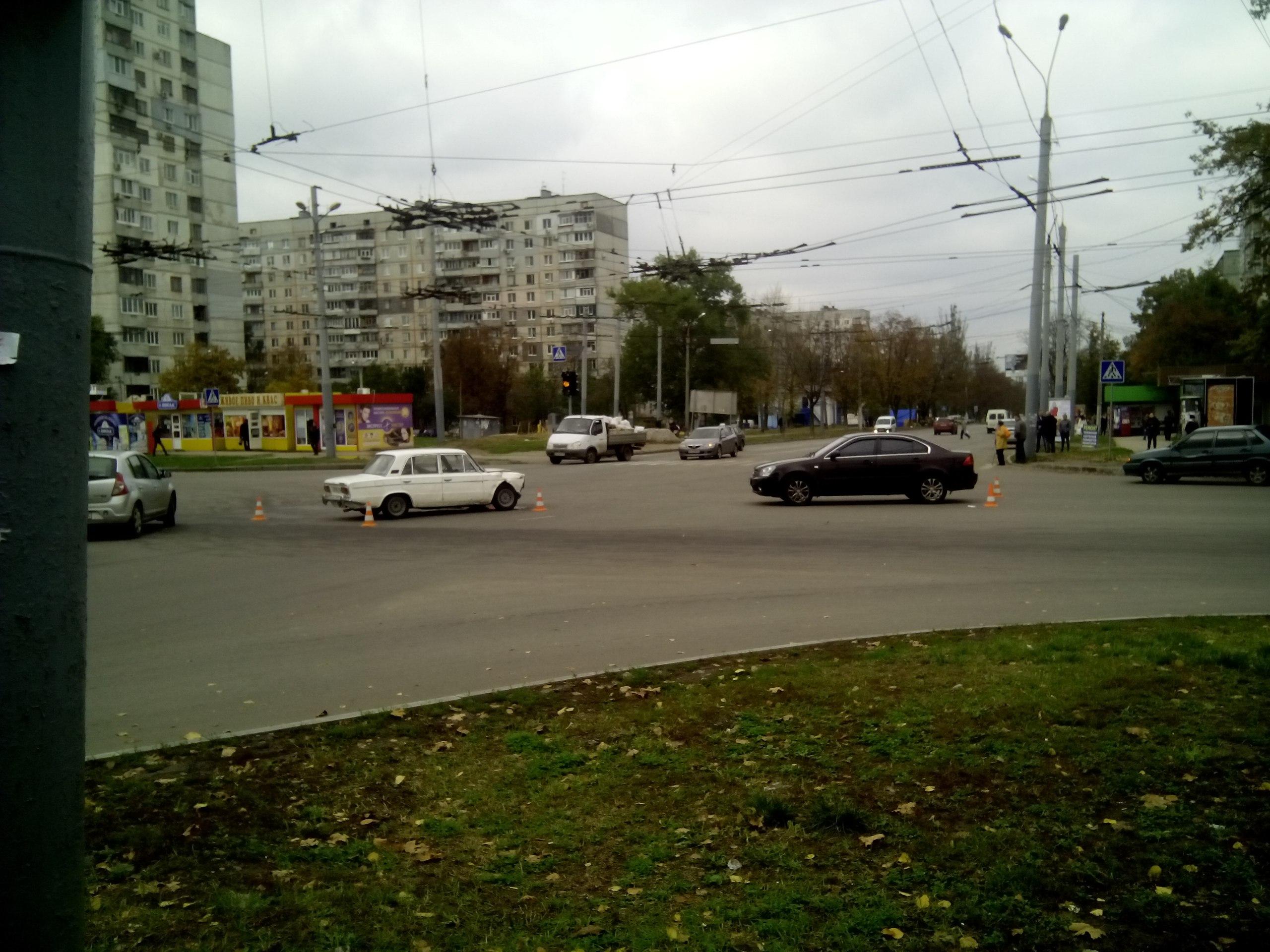 ДТП на Салтовке: обстоятельства выясняются