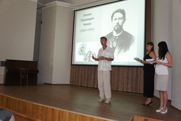 Кинопробы в Таганрогском музее-заповеднике