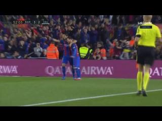 Барселона - Валенсия. Дубль Месси