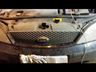 сломался замок капота форд мондео 3 (вскрытие)