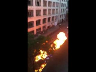 Fast  Furious 8 filming car crash scene