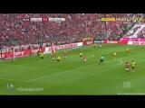 Bayern Munich 1-0 Borussia Dortmund - Ribery 4