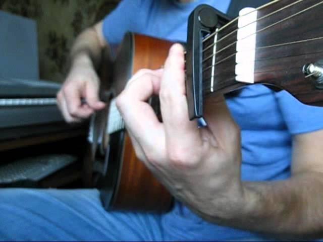 Жестокая любовь (поет Ф. Киркоров) на гитаре.