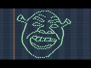 Shrek MIDI Art