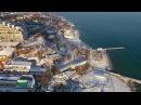Полет над зимней Одессой (Winter 2017. Phantom4 ride over Odessa city)