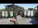 На границе с Крымом украинскую делегацию встретили российские военные со щитами флаги ИГИЛ