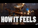 FOR HONOR: How it feels to play Nobushi