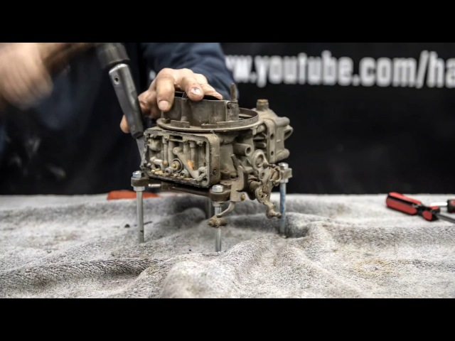Holley Carburetor Rebuild Time-Lapse | Redline Rebuild - S1E5