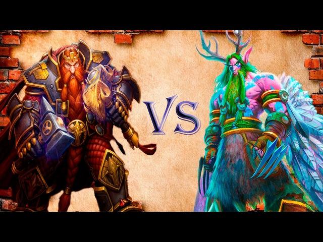 Как играть пират воином против агро друида! Pirate Warrior vs Aggro Druid!
