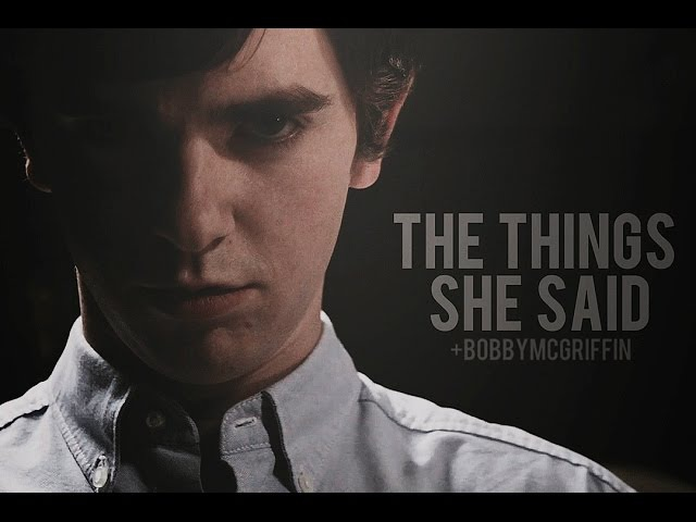 Multihorror All The Things She Said BobbyMcGriffin