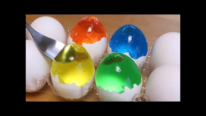 How to make Colorful Egg Jello for Easter