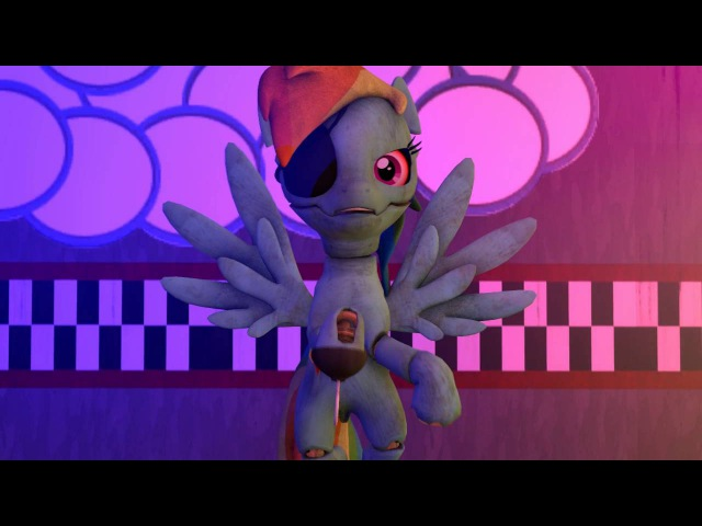 Five nights at aj's 2 - Mangle song [MLP SFM]