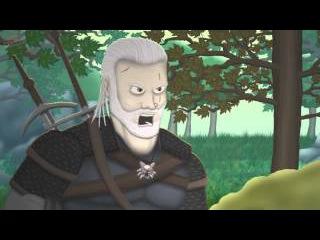 Мульт: Ведьмак 3 - Тупая лошадь