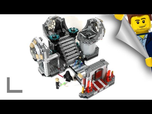 Обзор набора Lego Star Wars 75093 Звезда Смерти - Последняя Схватка (Death Star Final Duel)