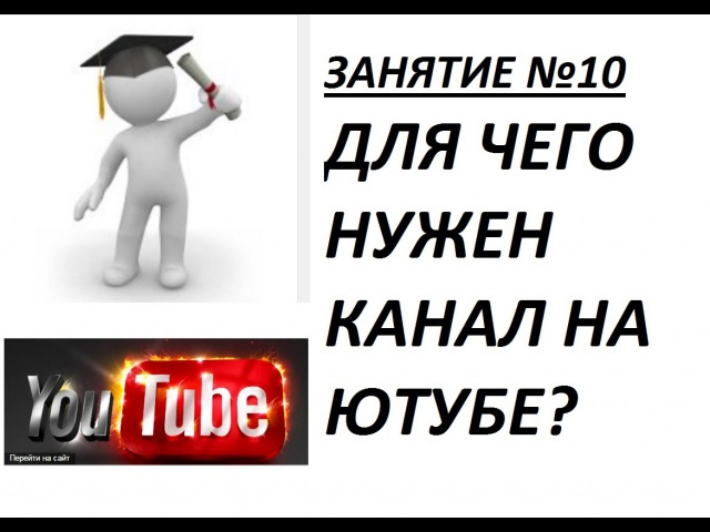 Business overview. Зачем нужен канал на Ютубе! Занятие №10