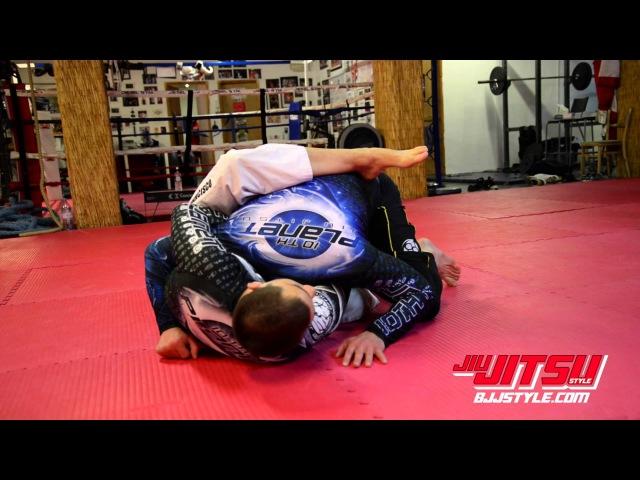 Denny Prokopos 10th Planet Jiu Jitsu Pretzel Grip Guillotine Choke