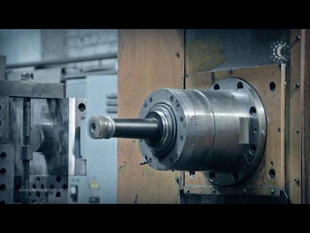 ИР-500. Изготовление поперечных салазок токарного станка 1М63