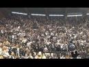 Partizan - CSKA 19.12.2013. GROBARI NAVIJANJE