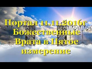 Портал 11.11 — Божественные Врата в Пятое измерение(Отец-Абсолют)ВОЗНЕСЕНИЕ ЗЕМЛИ-ченнелинг