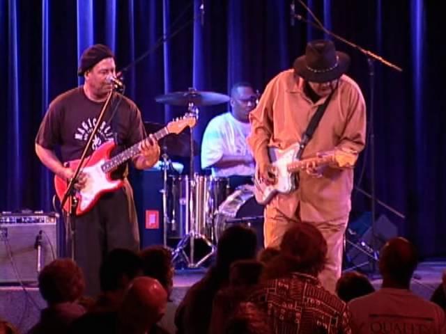 Magic Slim And The Tear Drops - I'm A Blues Man Live