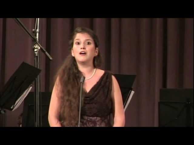 Handel Teseo Amarti si vorrei Einat Aronstein Cesti Singing Competition 2012