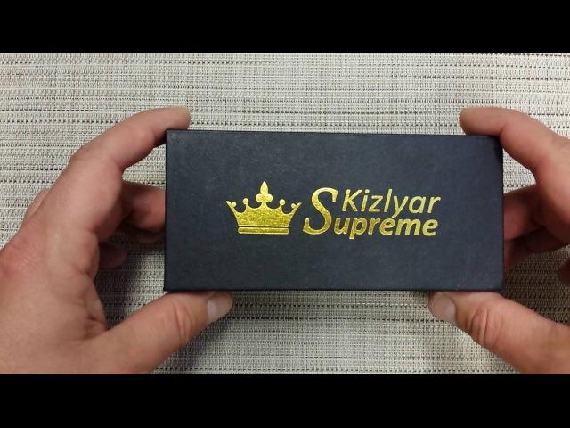 Нож BLOKE X Kizlyar Supreme Впечатлил