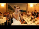 Невеста читает рэп на свадьбе в подарок жениху 2015