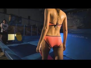 Flowrider bikini girls. Just fun.